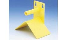 Siodełko modułowe - Żółte - (żerdka z daszkiem)