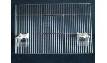 Front do klatki 49,50 x 31,50 + dwa karmidła
