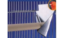 Metalowy uchwyt na żerdkę  9,5 x 11 cm 1 szt.