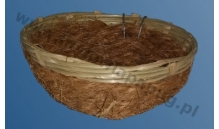 Gniazdo wiklinowe z kokosem 42060 - 1 szt.