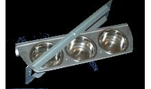 Karmidło (miska) obrotowa - potrójna