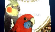 Deli Nature - Menu 5* Średnie Papugi Australijskie 800 g(nimfa)