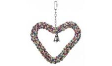 31696 - zabawka dla papug - serce