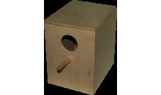 Budka lęgowa dla nierozłączki, papużki falistej - 3