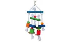 Zabawka 31985 - Kolorowe klocki na linie