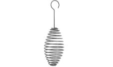 Karmnik na dwie kule tłuszczowe - Spirala - Szary