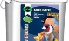 Orlux Gold Patee European Finches 5 kg - pokarm jajeczny dla ptaków europejskich (szczygieł, gil, itp.)