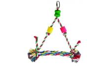 34435 - zabawka dla papug - huśtawka, trójkąt