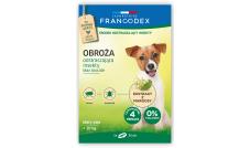 FRANCODEX - Obroża odstraszająca przeciwko pchłom i kleszczom 35 cm - dla małych psów