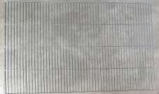 Front - Siatka 49,5 cm x 79,5 cm (ocynk)